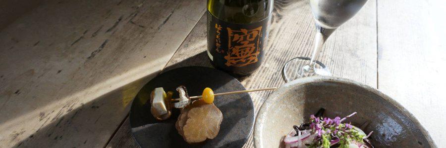 ヒジキとれんこんの和え物 + <small>牡蠣のレモン蒸し</small>