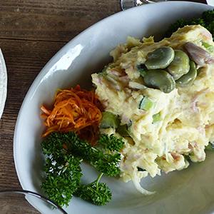 ポテトサラダ & 野菜サラダ