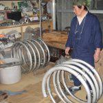 錫製蛇管製造風景-11