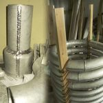 錫製蛇管製造風景-12